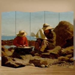 Παραβάν με ψαράδες
