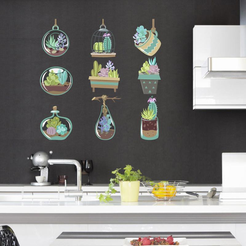 Αυτοκόλλητα πλακάκια για διακόσμηση κουζίνας